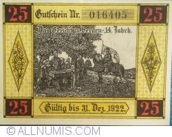 Image #2 of 25 Pfennig ND - Bergen an der Dumme