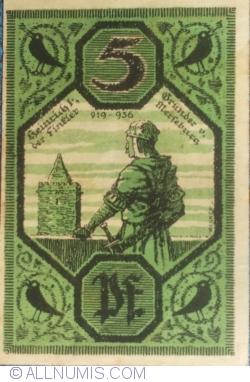 Image #1 of 5 Pfennig 1921 - Merseburg