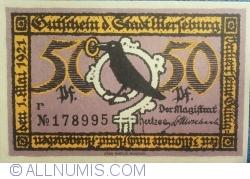 Image #2 of 50 Pfennig 1921 - Merseburg