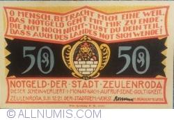 Image #1 of 50 Pfennig 1921 - Zeulenroda