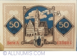 Image #2 of 50 Pfennig 1921 - Allenstein