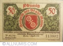 Image #1 of 50 Pfennig 1921 - Mainz