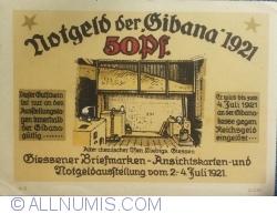 Imaginea #2 a 50 Pfennig 1921 - Gibana