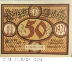 Image #1 of 50 Pfennig 1921 - Jessnitz