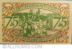 Image #2 of 75 Pfennig 1921 - Zeulenroda