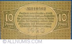Image #2 of 10 Pfennig 1920 - Bonn