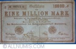 Image #1 of 1 000 000 Mark 1923 - Marienberg