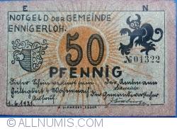 Image #2 of 50 Pfennig 1921 - Ennigerloh