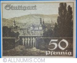 Image #2 of 50 Pfennig 1921 - Stuttgart