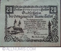 Image #1 of 20 Heller 1920 - Maria Tarfel