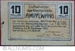 Imaginea #2 a 10 Heller 1920 - Ampflwang