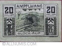 Imaginea #1 a 20 Heller 1920 - Ampflwang
