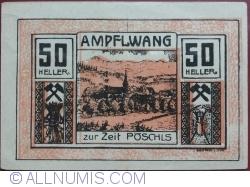 Imaginea #1 a 50 Heller 1920 - Ampflwang