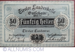 Image #1 of 50 Heller 1920 - Tirol