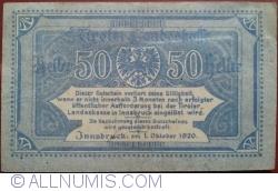 Image #2 of 50 Heller 1920 - Tirol