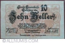 Image #1 of 10 Heller 1919 - Tirol