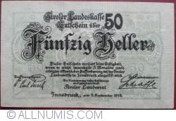 Image #1 of 50 Heller 1919 - Tirol