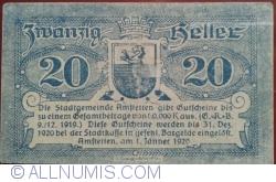 Image #2 of 20 Heller 1920 - Amstetten