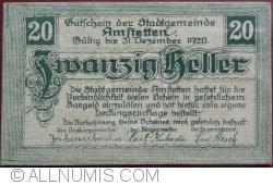 Image #1 of 20 Heller 1920 - Amstetten