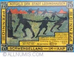 Image #1 of 75 Pfennig 1921 - Ludinghausen