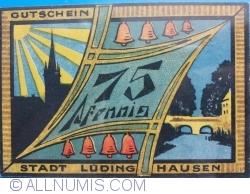Image #2 of 75 Pfennig 1921 - Ludinghausen