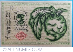 Imaginea #2 a 10 Pfennig 1919 - Bielefeld