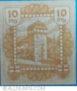 10 Pfennig 1920 - Linz am Rhein