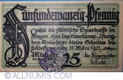 25 Pfennig 1921 - Mayen