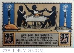 25 Pfennig 1921 - Nordhausen