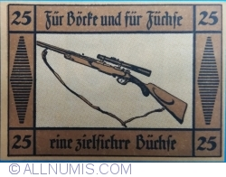 Image #1 of 25 Pfennig ND - Suhl