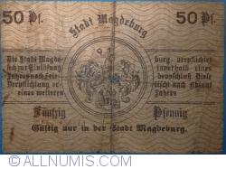Imaginea #2 a 50 Pfennig 1917 - Magdeburg
