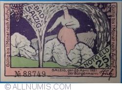 Image #1 of 25 Pfennig 1921 - Bad Salzig