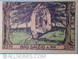 Image #2 of 25 Pfennig 1921 - Bad Salzig