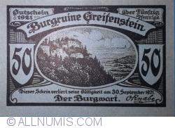 50 Pfennig 1921 - Greifenstein