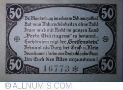 Image #2 of 50 Pfennig 1921 - Greifenstein