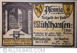Image #1 of 50 Pfennig 1921 - Mühlhausen