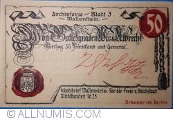 Image #2 of 50 Pfennig 1921 - Mühlhausen