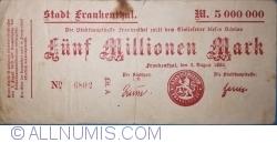 Image #1 of 5,000,000 Mark 1923 - Frankenthal
