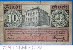 Image #1 of 10 Pfennig 1921 - Goch