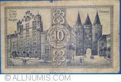 Image #2 of 10 Pfennig 1921 - Goch