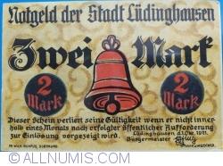 Image #2 of 2 Mark 1921 - Ludinghausen