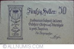 Imaginea #2 a 50 Heller 1920 - Gallspach