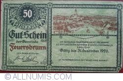 Image #1 of 50 Heller ND - Feuersbrunn