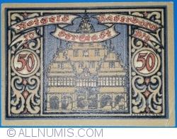 Image #2 of 50 Pfennig 1920 - Paderborn