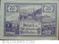 20 Heller 1920 - Waldkirchen am Wesen