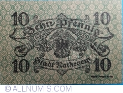10 Pfennig 1917 - Rathenow