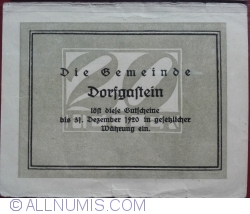 Image #2 of 20 Heller 1920 - Dorfgaftein