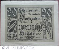 Image #1 of 20 Heller 1920 - Dorfgaftein