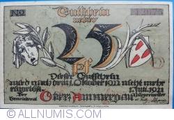 Image #2 of 25 Pfennig 1921 - Oberammergau