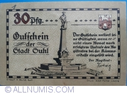 Image #2 of 30 Pfennig ND - Suhl